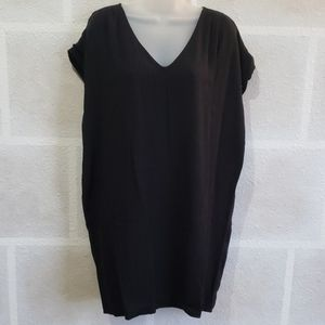 Old Navy Black Extra Long Blouse